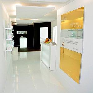 Eingangsbereich cell premium lounge