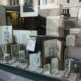 Schaufenster Antiquariat