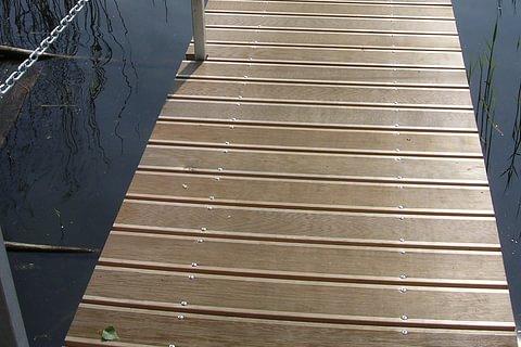 pontile Lugano
