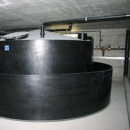 Chemikalien-Lagertank