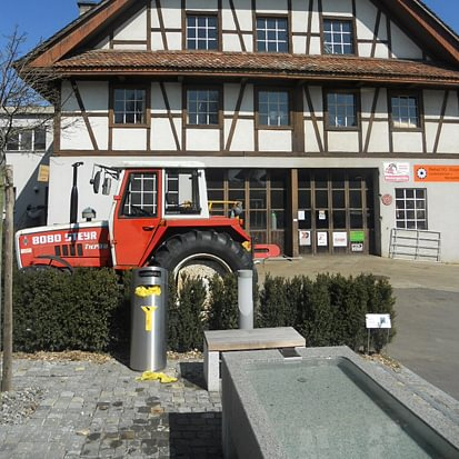 Amhof AG - Aussenansicht Werkstatt