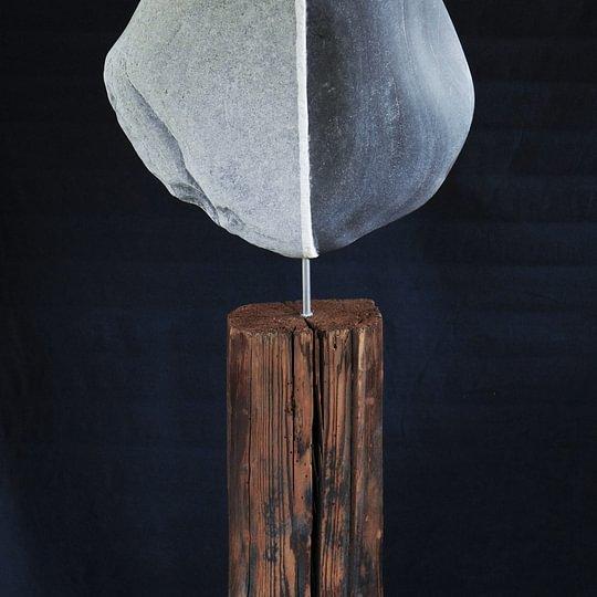 Kieselkunst-Skulptur 1