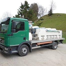 Transport de truites vivantes dans toute la Suisse
