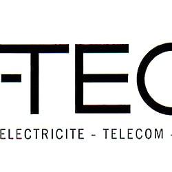 logo entreprise- éléctricité - télécom - téléréseau