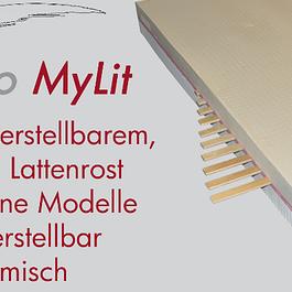 fanello Mylit Matratze - einfach verstellbar