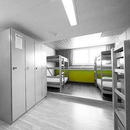 Zimmerbeispiel 6-Bett