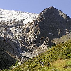 ... à 30' à pieds du Glacier du Trient