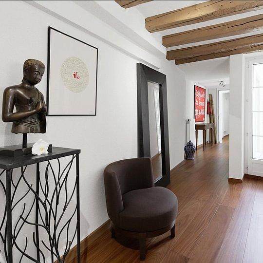 Frédéric Fontaine - Salon appartement - Lausanne