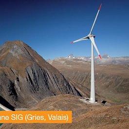 SIG investit dans l'éolien