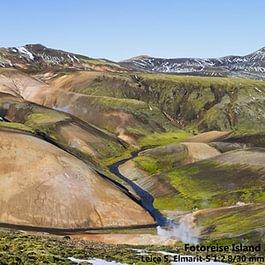 Farbige Berge Island / Erwin Marlin