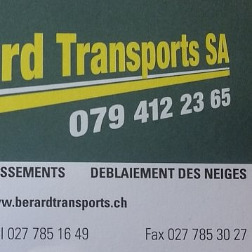 Bérard Transports SA