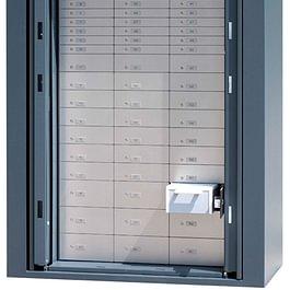 Einschiebetür-Kassenschrank mit Kundenmietfächer