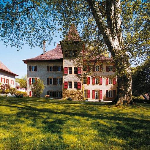 Château d'Eclépens, côté jardin