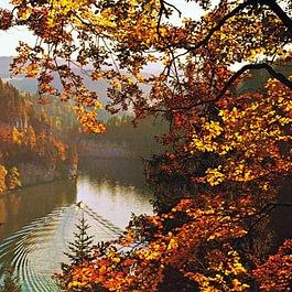 les bassins du Doubs en automne
