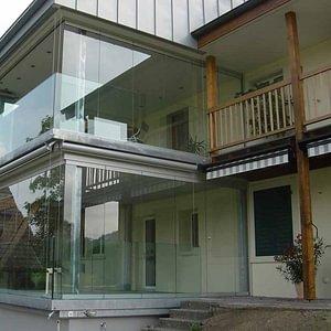 Balkon- und Sitzplatzverglasungen