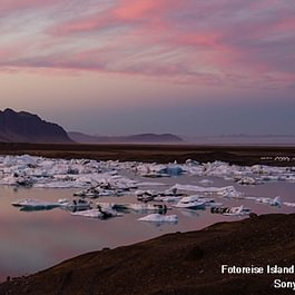 Island Gletscher / Erwin Marlin