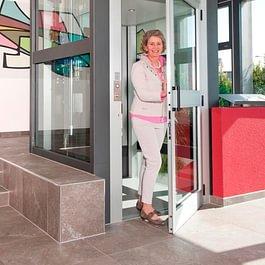 Aufzug für Personen mit eingeschränkter Mobilität