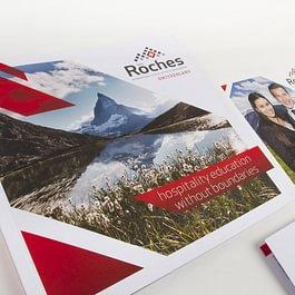 Création de la brochure Les Roches