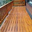 Refection du plancher et de la barrière du balcon