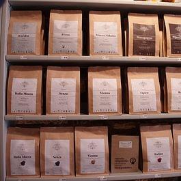 Café grains et capsules