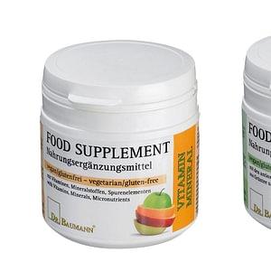 Nahrungsergänzungsmittel von Dr. Baumann
