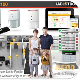 Alarmanlagen JABLOTRON 100 - FocusControl