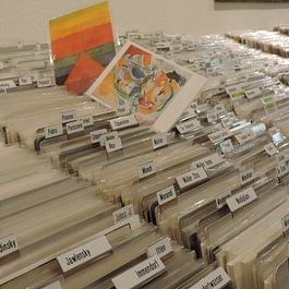 grösste Postkartensammlung der Schweiz