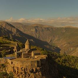 Le monastère de Tatève, Arménie