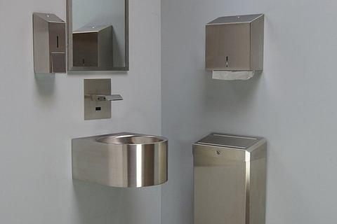 Accessoires inox pour salles-de-bains