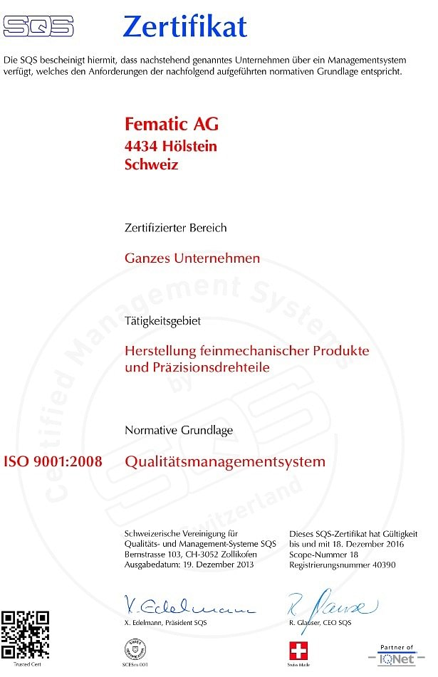 Fematic AG in Hölstein - View address & opening hours on local.ch