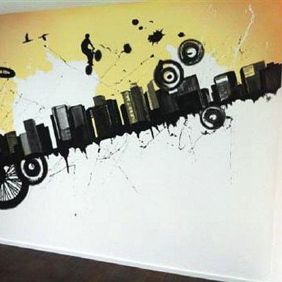 Kunst an der Wand!
