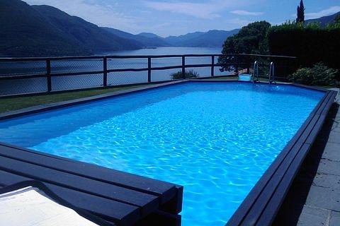 Piscine Arizona Pool con struttura in legno e rivestimento in liner