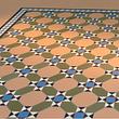 Keramikteppich aus Feinsteinzeug Bodenplatten