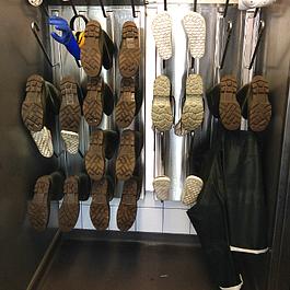 Stiefeltrocknungssystem für 20 Paar