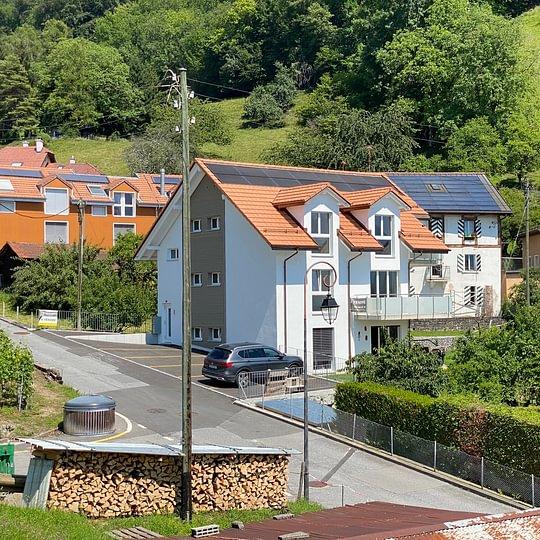 Bel appartement de 3,5 pces à Villeneuve (hameau de Valleyres)