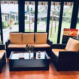 Spazio Lounge sulla veranda.