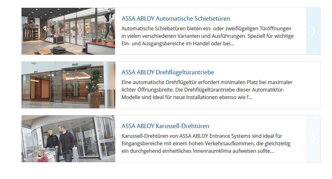 assa abloy entrance systems switzerland ag. Black Bedroom Furniture Sets. Home Design Ideas