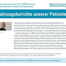 RTC-Erfahrungsbericht Dr. Buchser