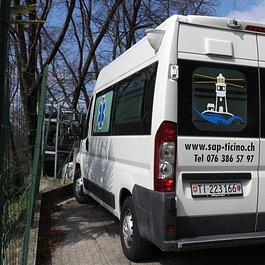 Autolettiga non medicalizata  trasporti in Svizzera