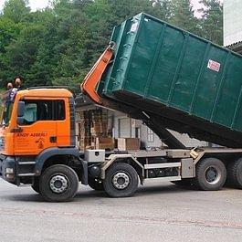 Transporte mit 40 m3 und 20 m3 Mulden aller Art