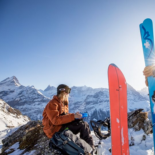 Das Backdoor Skitouring - und Splitboarding Team in Grindelwald