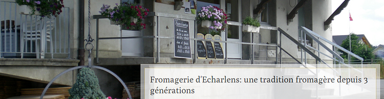 Fromagerie d'Echarlens
