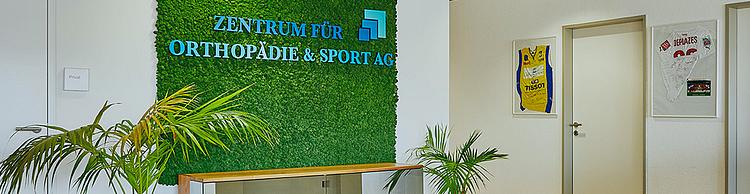 Zentrum für Orthopädie und Sport