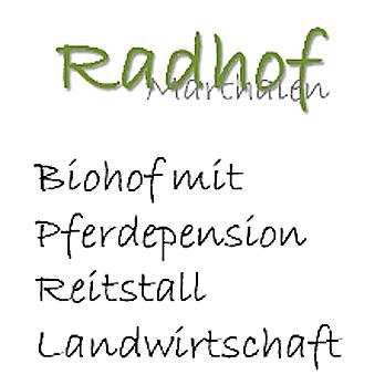 RADHOF Reit- und Pensionsstall, Marthalen
