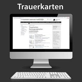 Wagner Grafiken, Trauerkarten und Trauerbriefpapier