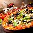 Pizzeria Milano; St. Gallen, Pizza aus dem Holzofen
