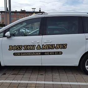 Boss taxi et mini-bus Sàrl