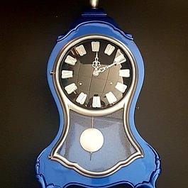 Pendule Neuchâteloise Clock Look (Relooker Chez L'Horloger à Blonay)