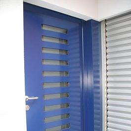 portoncini entrata alluminio termosiolanti di sicurezza Inotherm