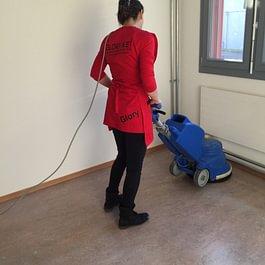 Nettoyage au sol carrelage